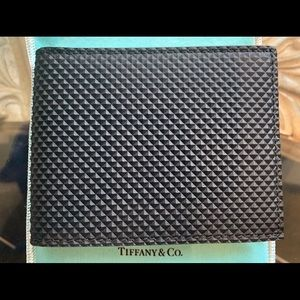 Brand new Tiffany and co. Diamond point wallet &